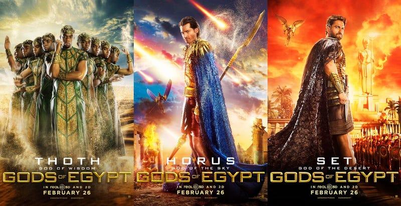 Resultado de imagen de gods of egypt poster