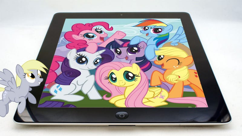 Illustration for article titled Official My Little Pony Games Bringing Friendship and Magic to Mobile Devices
