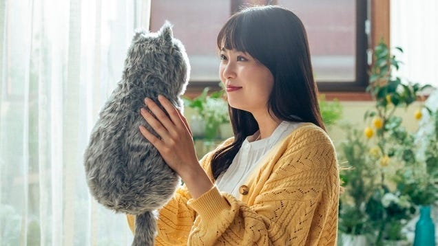 You re Supposed to Be Comforted by This Faceless Robotic Vibrating Cat, Not Horrified
