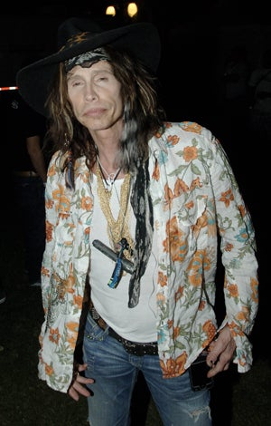 Illustration for article titled Steven Tyler: Only His Feet Are In Rehab