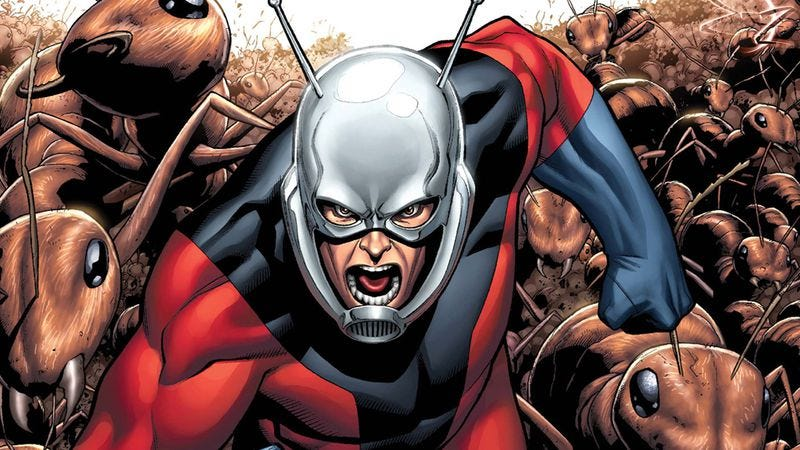 Illustration for article titled  Ant-Man gets a 2015 release date, allowing for three more years of speculation