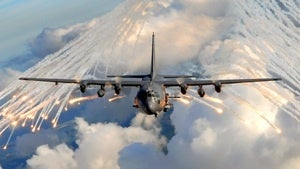 """Illustration for article titled The Air Force's AC130U """"Spooky"""" is more like terrifying"""