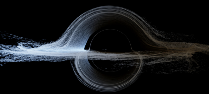 Illustration for article titled The Original Black Hole For Interstellar Was Too Confusing