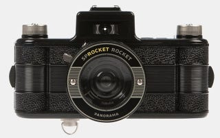 Illustration for article titled Analogue Camera Sprocket Rocket Shoots Photos With Exposed 35mm Sprocket Holes