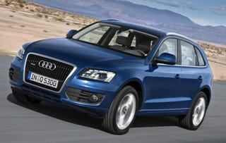 Illustration for article titled 2009 Audi Q5 Revealed, Officially