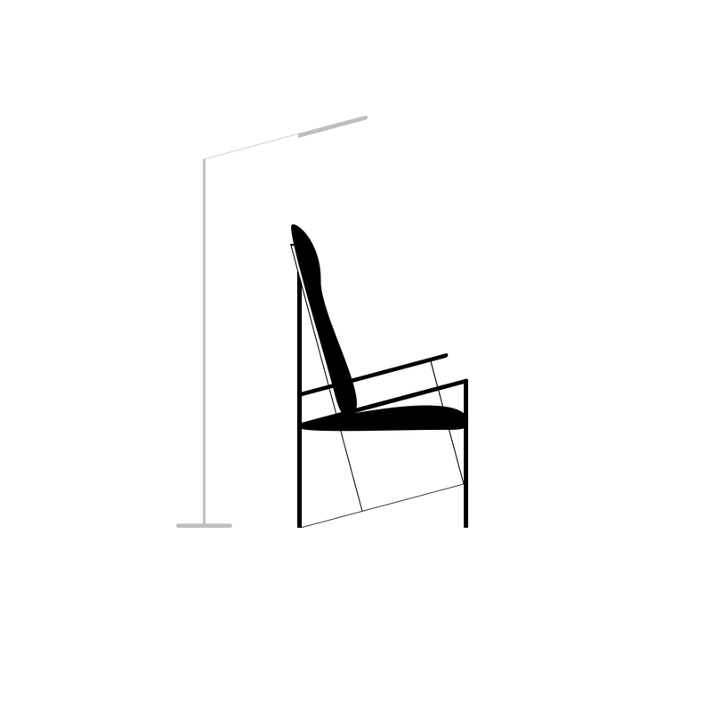 Illustration for article titled Black Reading Chair