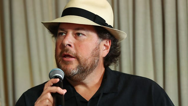 Salesforce CEO Says It Won t Sever Ties With Customs and Border Protection