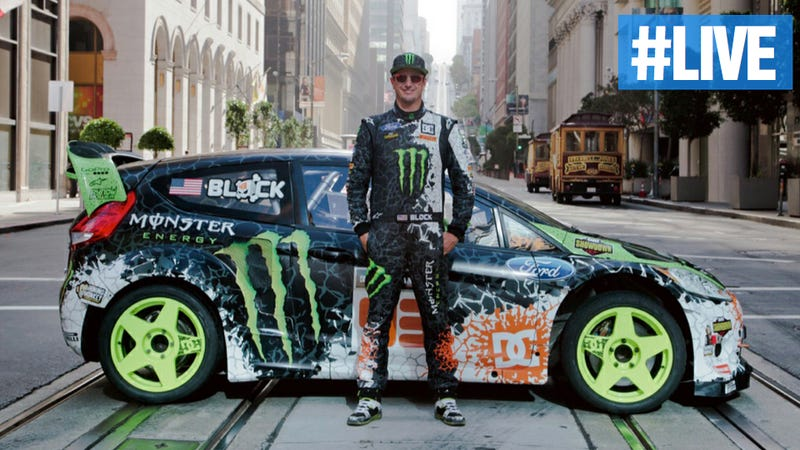 Illustration for article titled Ask Gymkhana 5 Star Ken Block (And Segway Dude) Anything You Want