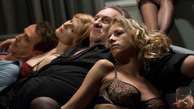 Illustration for article titled Abel Ferrara envisions hell as a sex scandal in Welcome To New York
