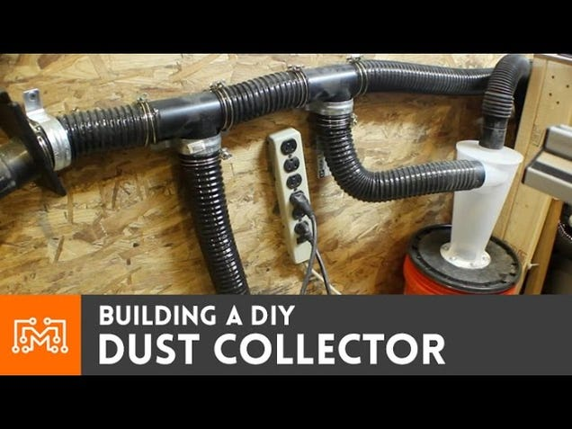 Make a Dust Collector Using a Wet/Dry Shop Vac