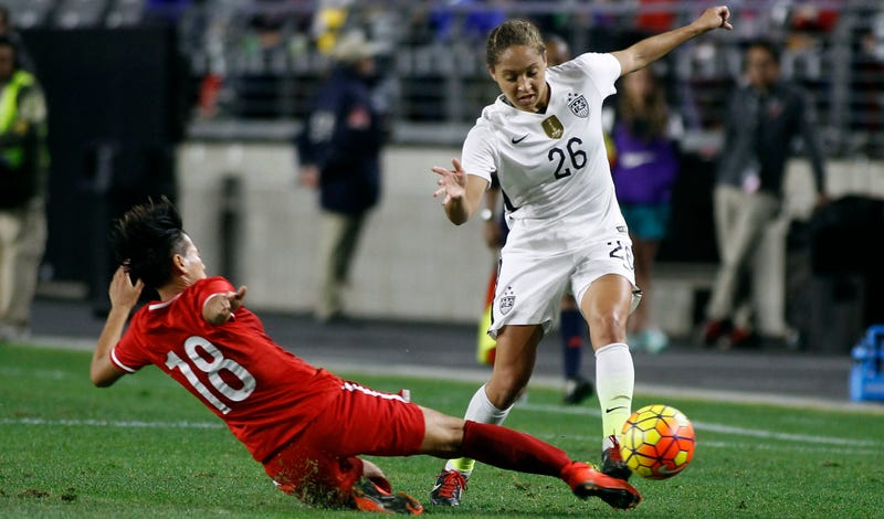 BreakPoint: The U. S. Women's Soccer Team and Jaelene Hinkle