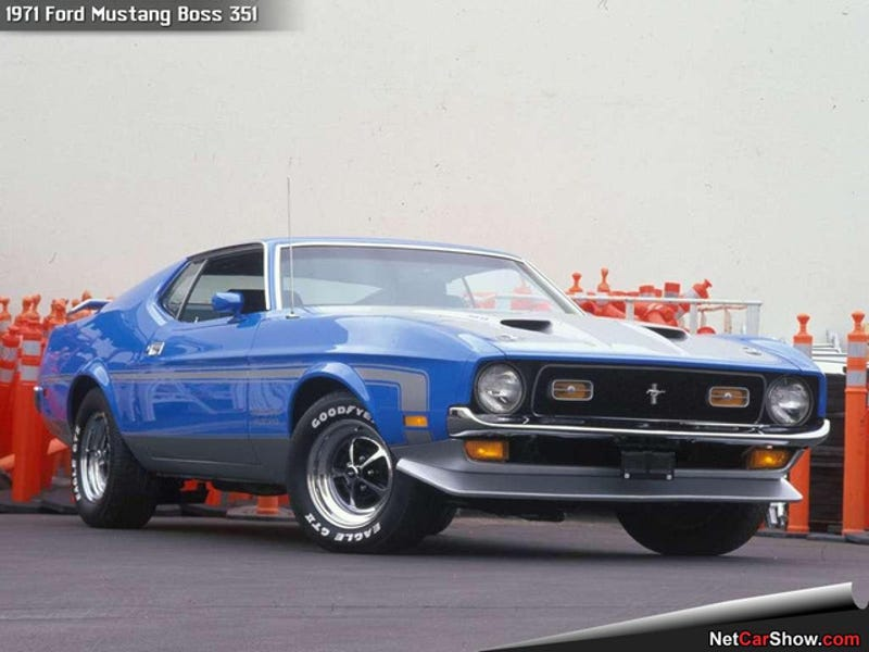 Illustration for article titled Someday I will own a '71 or '72 Mustang Fastback