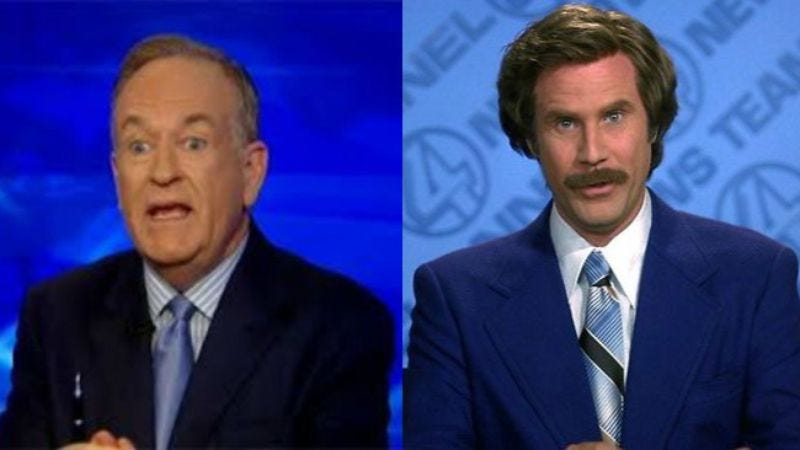 Illustration for article titled Bill O'Reilly challenged Will Ferrell to a debate on politics, movies, anything else