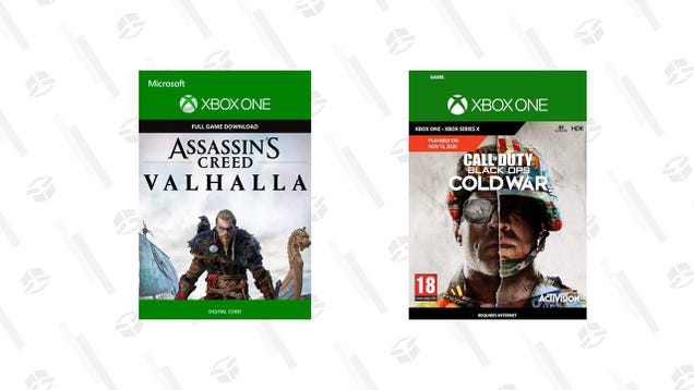 Get Digital Versions of Assassin s Creed Valhalla and Call of Duty: Black Ops Cold War for 10% Off Right Now