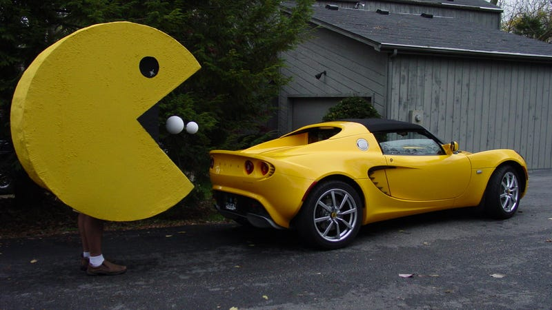 Illustration for article titled COTD: Pac Man And The Lotus Elise Edition