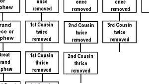 1st cousin once removed dating