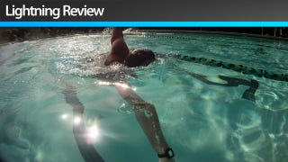 Illustration for article titled Finis Swimsense Performance Monitor: Watch Out Michael Phelps