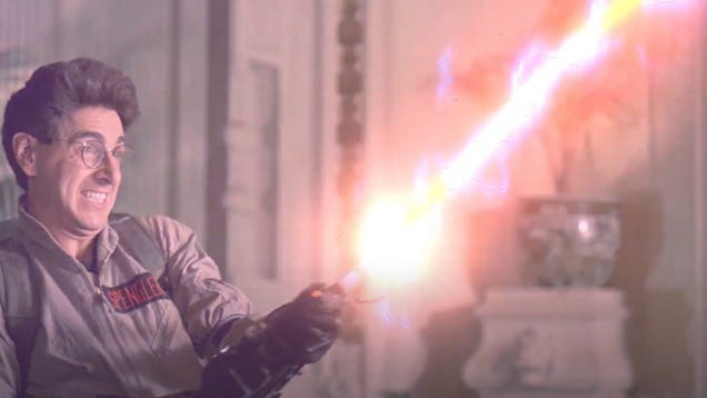 This Halloween, I ll Be Ghostbusting With Egon s Old Wand