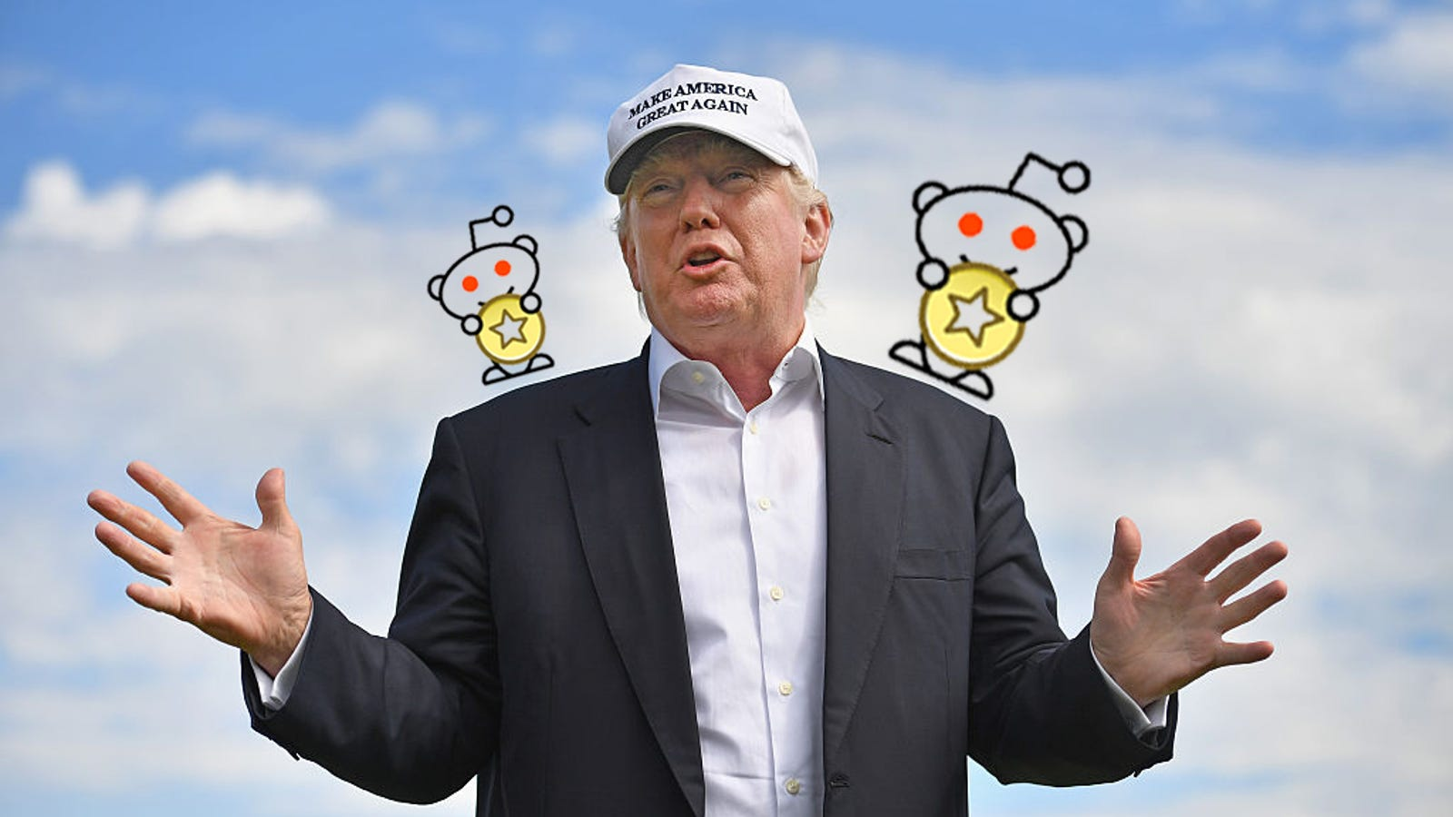 Redditors Gift Trump Up to $530 in Worthless Reddit Gold
