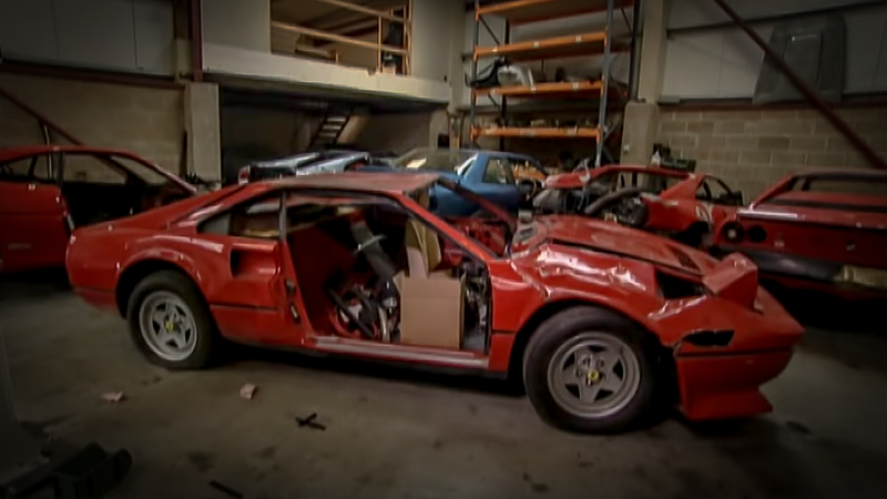 The Weird World Of Exotic Car Junk Yards