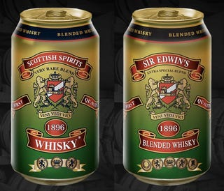 Illustration for article titled Whisky in a Can Is the Best Thing in a Can