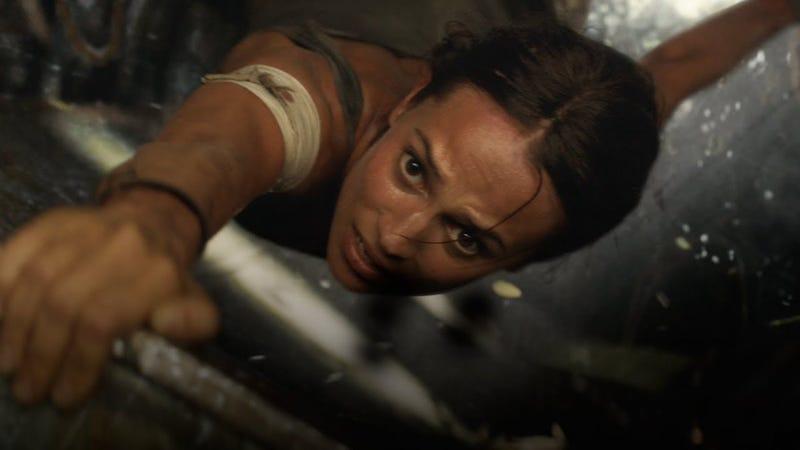 Alicia Vikander como Lara Croft. (Todas las imágenes: Warner Bros)
