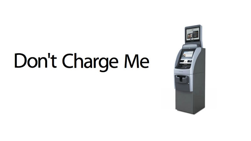 Illustration for article titled Please Show Me an Ad at the ATM So I Don't Have to Pay an Extra 2 Bucks