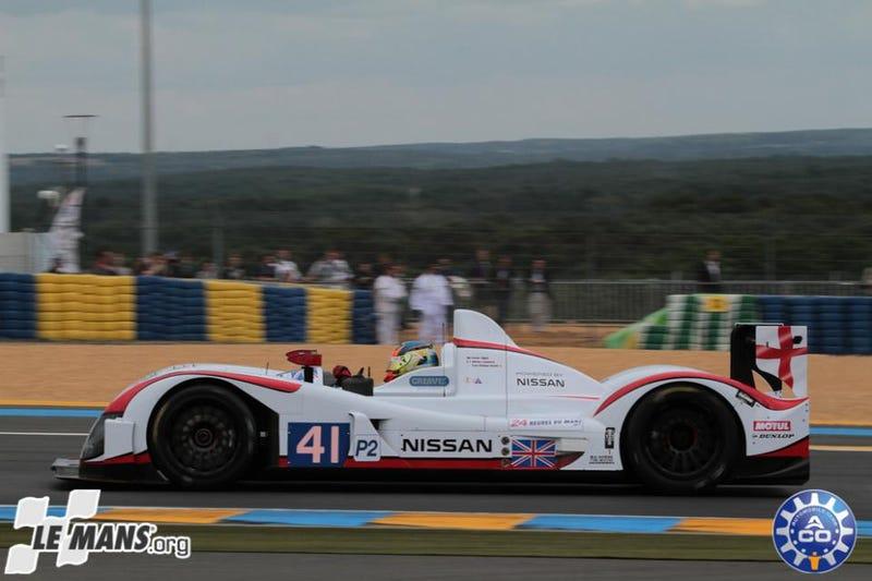 Illustration for article titled NISSAN Steps Up At Le Mans 24