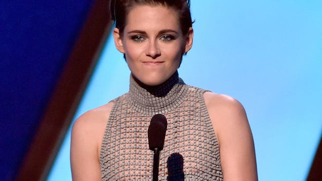Kristen Stewart Unleashes Her Nipple In Hopes Of Winning -1517