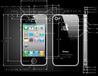 Illustration for article titled iPhone 4 CAD Diagrams Will Make Designers Weak at the Knees
