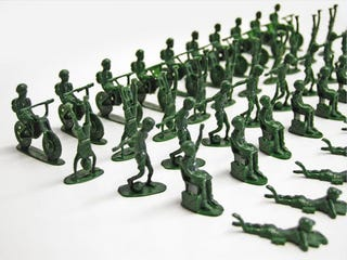 Illustration for article titled UNICEF's Toy Soldiers To Help Real Kids