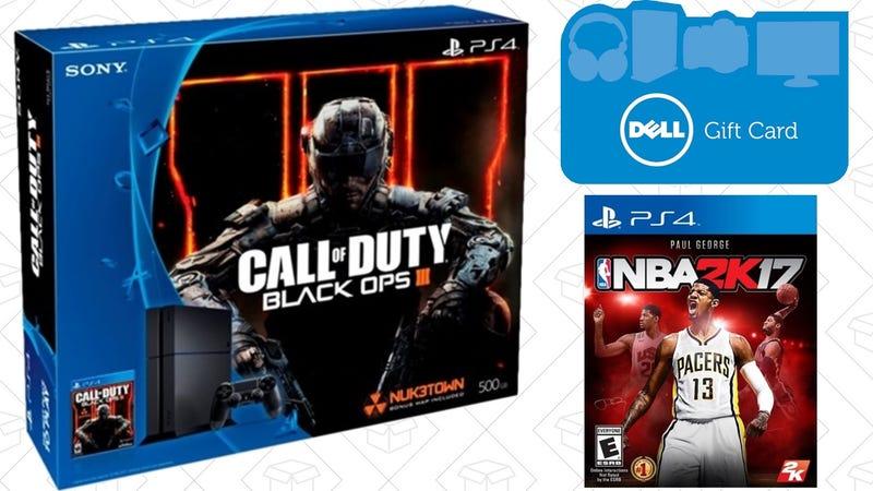 PlayStation 4 Call of Duty Bundle + NBA 2K17 + $75 promo gift card, $300