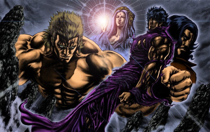 Illustration for article titled The Manga of Fist of the Blue Sky gets an anime adaptation