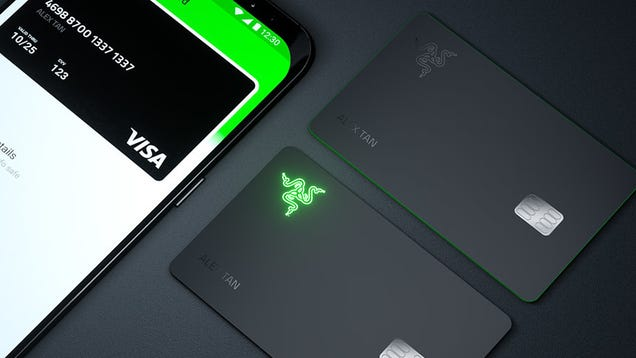 Razer s Dumb Light-Up Visa Card for Gamers Is Proof This Timeline Is Cursed
