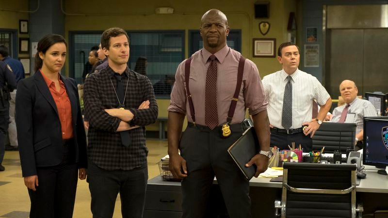Illustration for article titled Brooklyn Nine-Nine explains why you should never meet your heroes