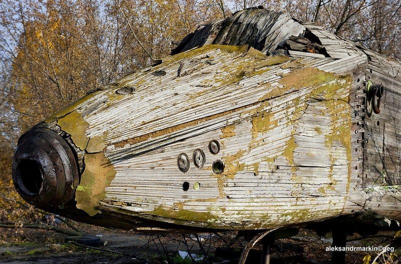 More Sad Remains Of The Soviet Buran Space Shuttle Program