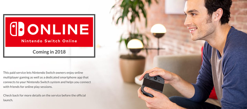 Nintendo Switch's Online Service Will Be $20/Year, Includes Classic Games [UPDATE]