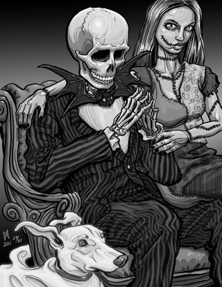 Illustration for article titled Nightmare before CAHmas