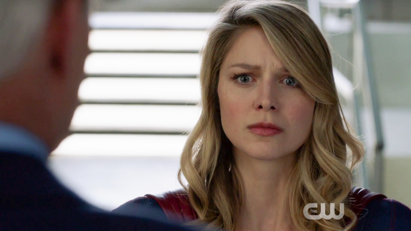 This is Supergirl's concerned face.