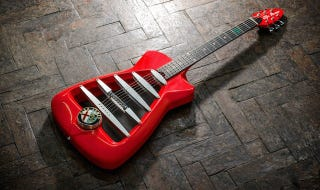 Illustration for article titled For $6,800 You Can Now Own A Custom Alfa Romeo Guitar