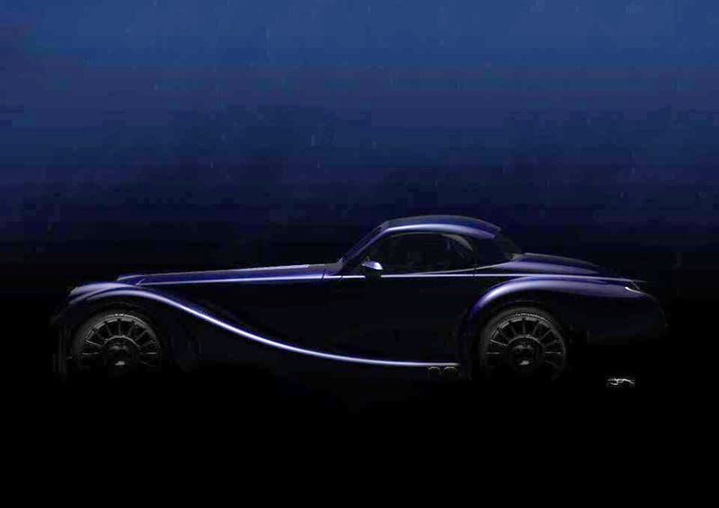 Illustration for article titled Morgan Teases All New, er, Roof ahead of Geneva