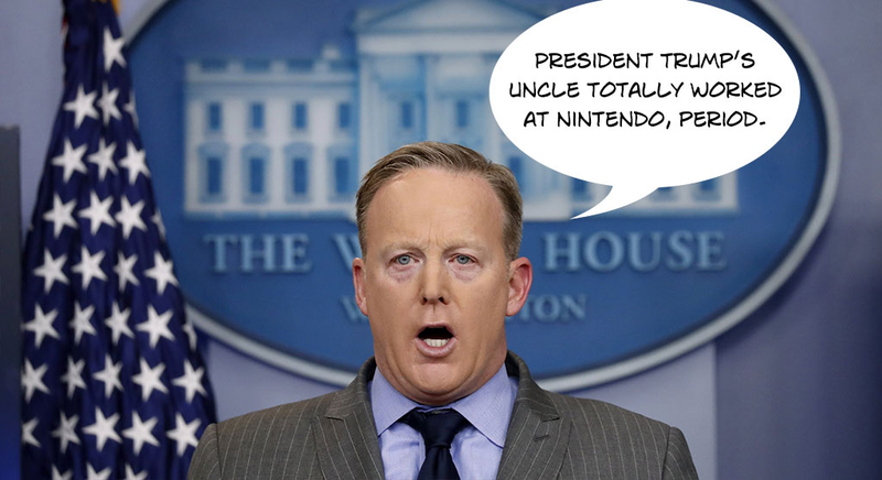 Illustration for article titled Press Secretary Sean Spicer Is Absolutely Not A Meme, Period