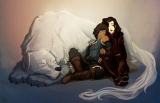 Illustration for article titled Nickelodeon's Top 5 Korrasami Moments