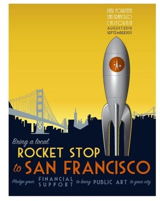 Illustration for article titled San Francisco prepares to build its first space port