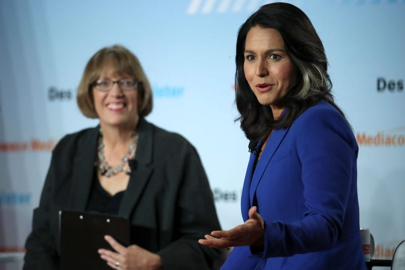 Illustration for article titled Tulsi Gabbard Sues Google in Bizarre Bit of Campaign Theater