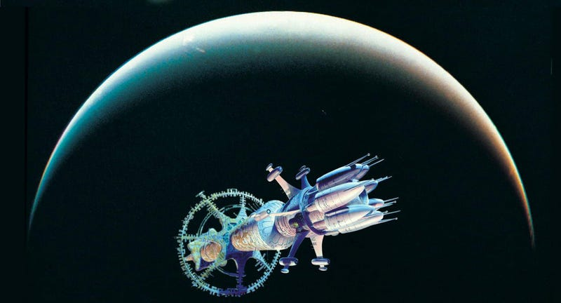 Revelation Space by Alastair Reynolds, one of the books covered in Gary Wolfe's course