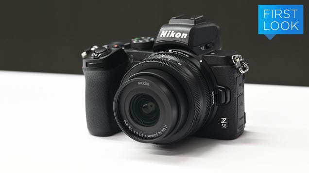 The Z50 Is Nikon s More Affordable and Compact Mirrorless Camera
