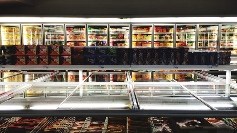 Illustration for article titled The frozen food industry is suffering because we're afraid of glass doors