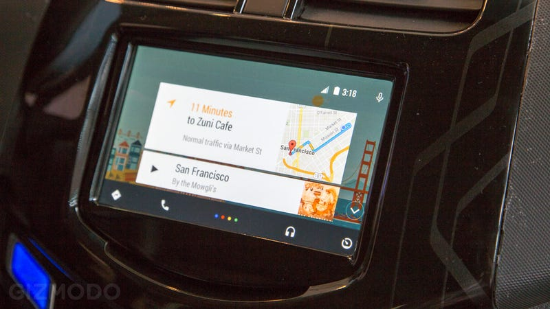 Illustration for article titled Android Auto Hands-On: An Automotive Life-Saver for Android Users
