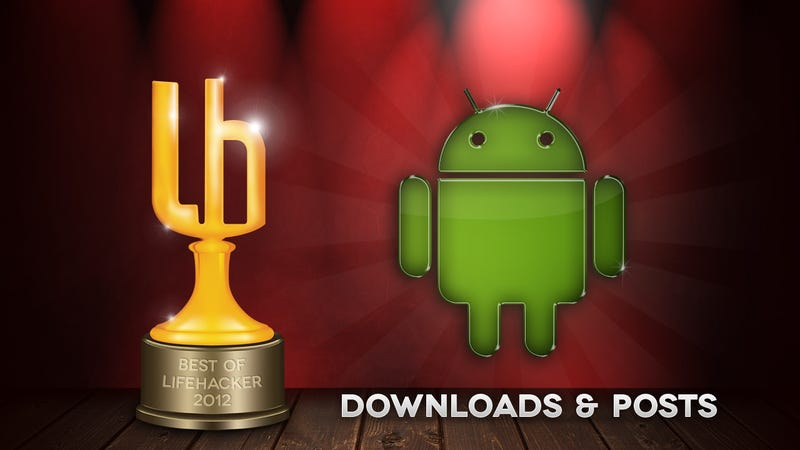 Illustration for article titled Most Popular Android Downloads and Posts of 2012